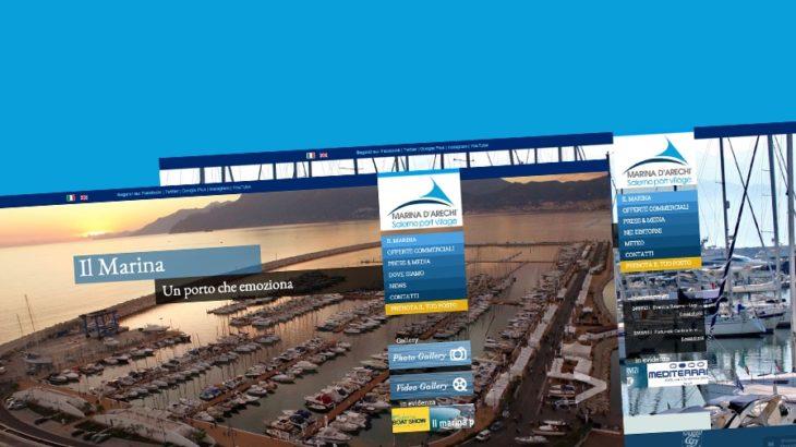 Sviluppo sito web Marina d'Arechi