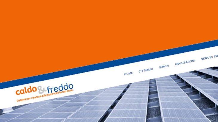 Sviluppo sito caldoefreddo.it