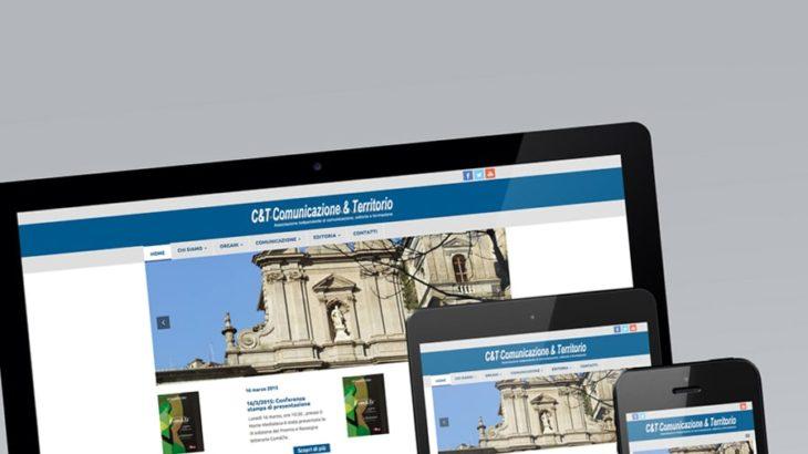 Sviluppo sito comunicazioneterritorio.it