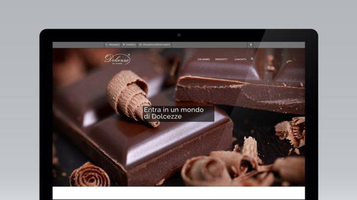 Sviluppo sito dolcezzedicioccolato.it