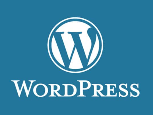 logo wordpress Cms